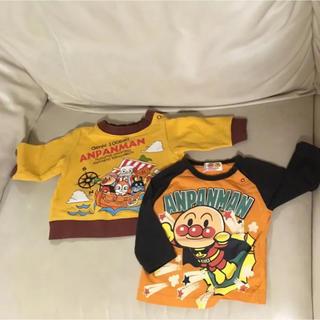 アンパンマン(アンパンマン)のアンパンマンの長袖  サイズ80長袖Tシャツとトレーナー2枚組 送料込(トレーナー)