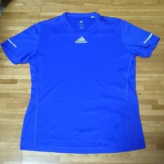 アディダス(adidas)のアディダス パープル Tシャツ(Tシャツ/カットソー(半袖/袖なし))