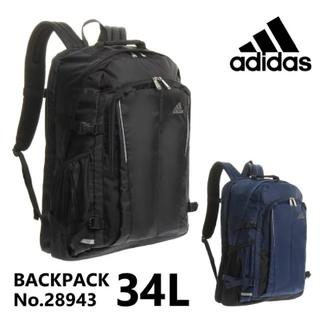 アディダス(adidas)のエース製アディダス 通学用リュックサックL 黒(バッグパック/リュック)