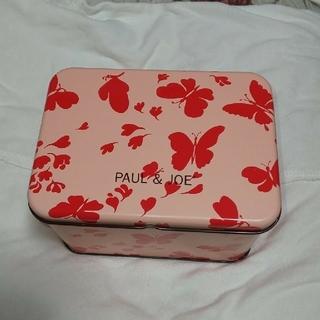 ポールアンドジョー(PAUL & JOE)のポール&ジョー  限定キットの缶(小物入れ)