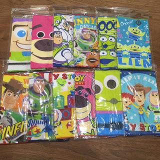 NEW☆トイストーリー ミニタオル 12枚(キャラクターグッズ)