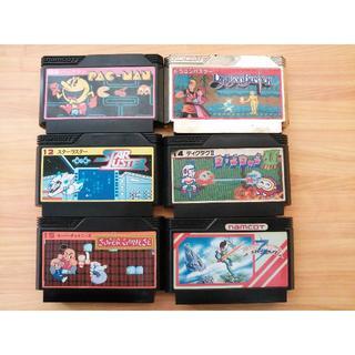 ファミリーコンピュータ(ファミリーコンピュータ)のファミコンソフト 6本セット ナムコ(家庭用ゲームソフト)