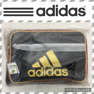 アディダス(adidas)のブラック27L  adidasエナメルバッグ(ショルダーバッグ)