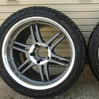 TANEISHA(鍛栄舎)製 17インチ タイヤ&鍛造ホイールセット(タイヤ・ホイールセット)