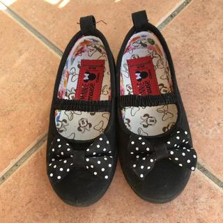 シマムラ(しまむら)の子ども用 おしゃれ靴 リボン ミニー 16.0cm(フォーマルシューズ)