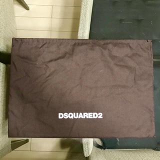 ディースクエアード(DSQUARED2)のDsquared2 巾着 袋 クラッチバッグ(セカンドバッグ/クラッチバッグ)