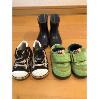 ミキハウス(mikihouse)の靴 14cm 3足まとめ売り(スニーカー)