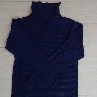 シマムラ(しまむら)の【MEN'S】タートルネック ファイバーヒート Mサイズ(Tシャツ/カットソー(七分/長袖))