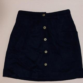 マーキュリーデュオ(MERCURYDUO)のマーキュリーデュオ フロントボタン台形スカート(ミニスカート)
