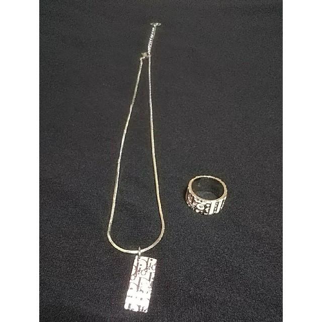039c67f5f8 Christian Dior(クリスチャンディオール)のChristian Dior トロッター ネックレス とリング レディースのアクセサリー