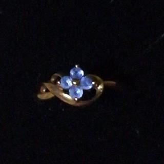 ジュエリーマキ(ジュエリーマキ)のK18 タンザナイトリング 9号(リング(指輪))