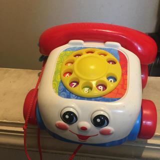 フィッシャープライス(Fisher-Price)のトイストーリー 電話のおもちゃ fisher price(がらがら/ラトル)