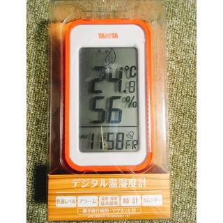 タニタ(TANITA)のデジタル 温湿度計(日用品/生活雑貨)