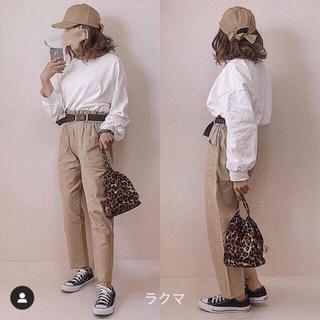 ジーユー(GU)のヘビーウェイトオーバーサイズT オフホワイト XL(Tシャツ(長袖/七分))