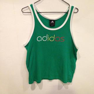 アディダス(adidas)のadidas アディダス ノースリーブ タンクトップ サイズM(タンクトップ)