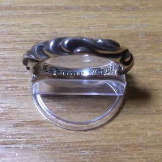 クロムハーツ(Chrome Hearts)のクロムハーツ スクロールバンドリング 正規品(リング(指輪))