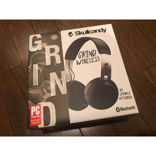 スカルキャンディ(Skullcandy)のskullcandy grind wireless ワイヤレスヘッドホン(ヘッドフォン/イヤフォン)