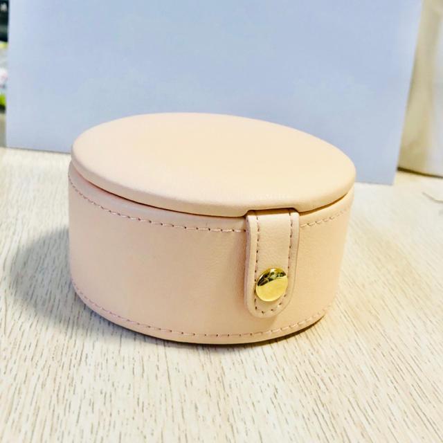 新品 ジュエリーボックス 携帯用 ピンク