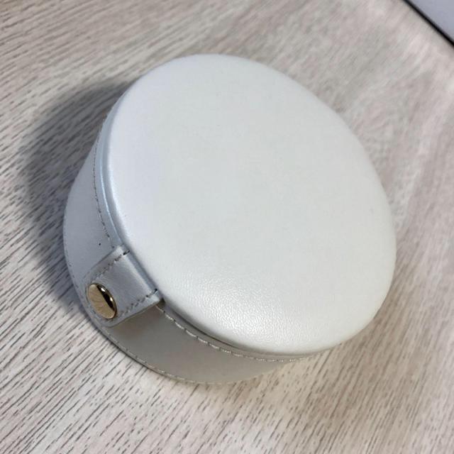 新品 アクセサリーケース 携帯用 ホワイト