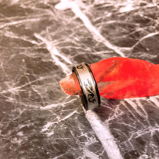 ステンレスリング (ブラックドラゴン)(リング(指輪))