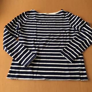 ジーユー(GU)のTシャツ ボーダー(Tシャツ(長袖/七分))