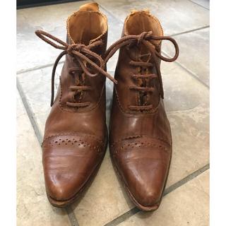 ポールハーデン(Paul Harnden)のポールハーデン 木目柄 ブーツ(ブーツ)