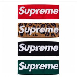 シュプリーム(Supreme)のsupreme headband Green シュプリーム ヘッドバンド 緑(ヘアバンド)
