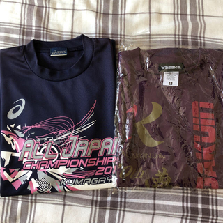 卓球Tシャツ2枚+ユニフォーム2枚セット(卓球)