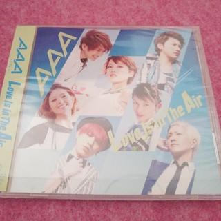 トリプルエー(AAA)のAAA loveisintheair ミューモショップ限定版(ポップス/ロック(邦楽))
