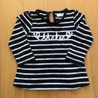 シマムラ(しまむら)の後ろが可愛いロンT 90(Tシャツ/カットソー)