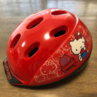 ハローキティ(ハローキティ)のハローキティ 幼児用自転車ヘルメット(自転車)