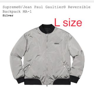 シュプリーム(Supreme)のSupreme Jean Paul Gaultier MA-1 Lサイズ(ミリタリージャケット)