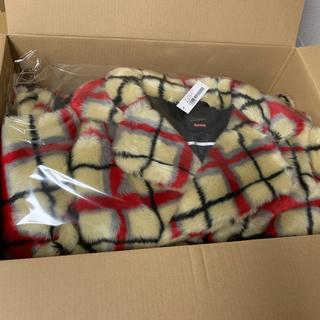 シュプリーム(Supreme)のPaul Gaultier Double Plaid Faux Fur Coat(毛皮/ファーコート)