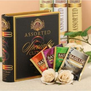 BASILUR TEA スペシャルティ クラシック アソートブック缶(茶)