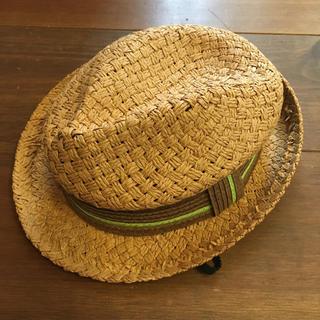 キッズフォーレ(KIDS FORET)の▦キッズフォーレ✦麦わら帽子✦ペーパーハット✦サイズ54▦(帽子)