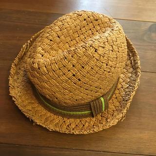 キッズフォーレ(KIDS FORET)の▦キッズフォーレ✦ペーパーハット✦麦わら帽子✦サイズ56▦(帽子)