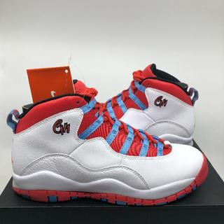 ナイキ(NIKE)の新品 25cm JORDAN 10 RETRO BG GS CHICAGO(スニーカー)