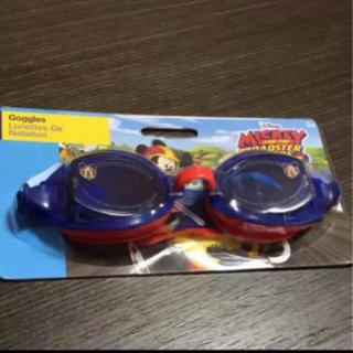 ディズニー(Disney)の水中めがね キッズ男の子 ミッキーマウス レーサー かっこいい 水泳 プール(マリン/スイミング)