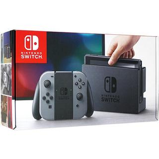 ニンテンドースイッチ(Nintendo Switch)の【即日発送可能】【新品未開封】ニンテンドースイッチ  グレー メーカー保証付(家庭用ゲーム機本体)