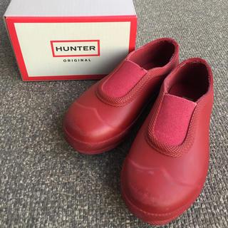 ハンター(HUNTER)の☆箱付き☆ HUNTER キッズレインシューズ 13〜14cm(長靴/レインシューズ)