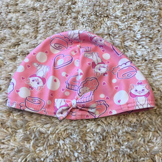 ディズニー(Disney)の水泳キャップ 帽子 水泳帽 マリーちゃん 50cm 52cm 54cm 55cm(マリン/スイミング)