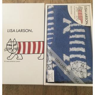 リサラーソン(Lisa Larson)のリサラーソン ウォッシュタオル ★新品未開封★(タオル/バス用品)