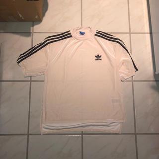 アディダス(adidas)のアディダス ベロア ティーシャツ(Tシャツ(半袖/袖なし))