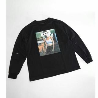 ジィヒステリックトリプルエックス(Thee Hysteric XXX)の新作 新品 ゴッドセレクションXXX L/S ブラックM (Tシャツ/カットソー(七分/長袖))