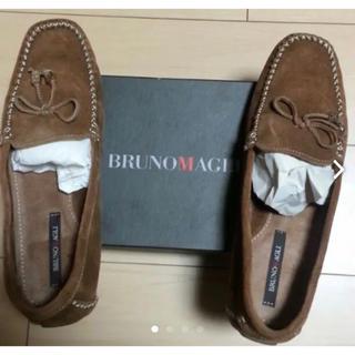 ブルーノマリ(BRUNOMAGLI)のラスト値下げ❣️⭐️新品⭐️「BRUNO MAGLI」ローファー(ローファー/革靴)
