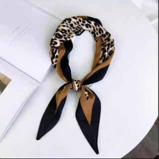 ザラ(ZARA)のインポート レオパード柄スカーフ 新品 ラスト1枚(スカーフ)