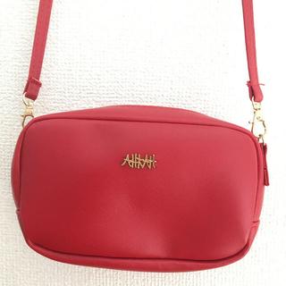 アーカー(AHKAH)のアーカー 赤色ポシェット(ショルダーバッグ)