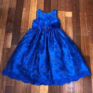 発表会 ドレス 130cm♪ロイヤルブルー(ドレス/フォーマル)
