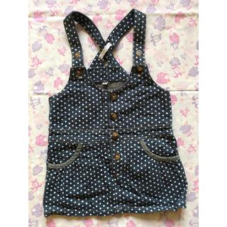 ニシマツヤ(西松屋)の水玉のスカート 95サイズ(スカート)