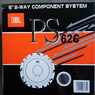 JBL PS62c 2wayセパレートスピーカー(カーオーディオ)